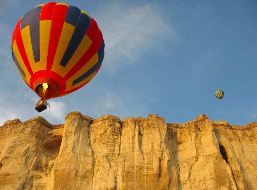 Повелитель стихий - активный отдых в Крыму: сплав, джип-тур, полет на воздушном шаре