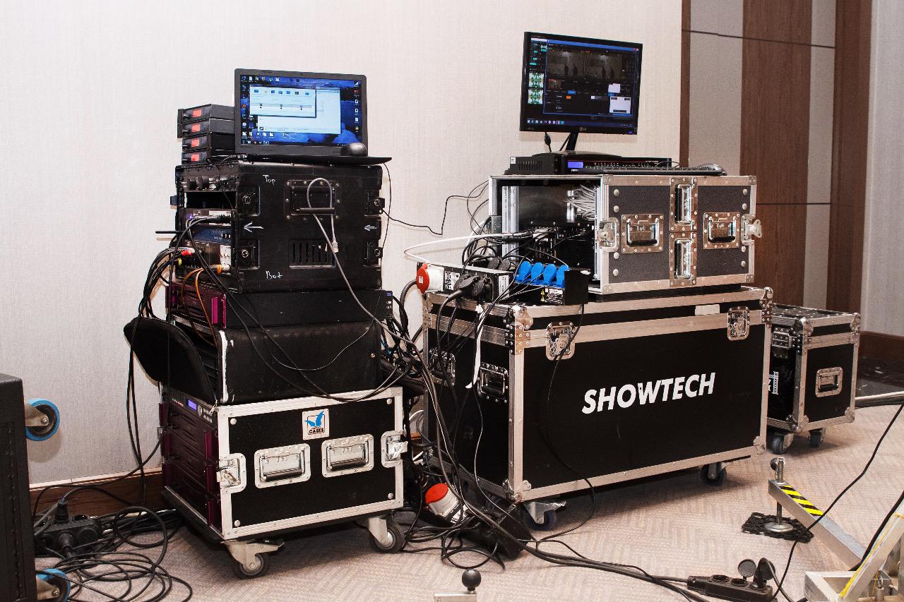 Аренда оборудования (звук, свет, проекция)